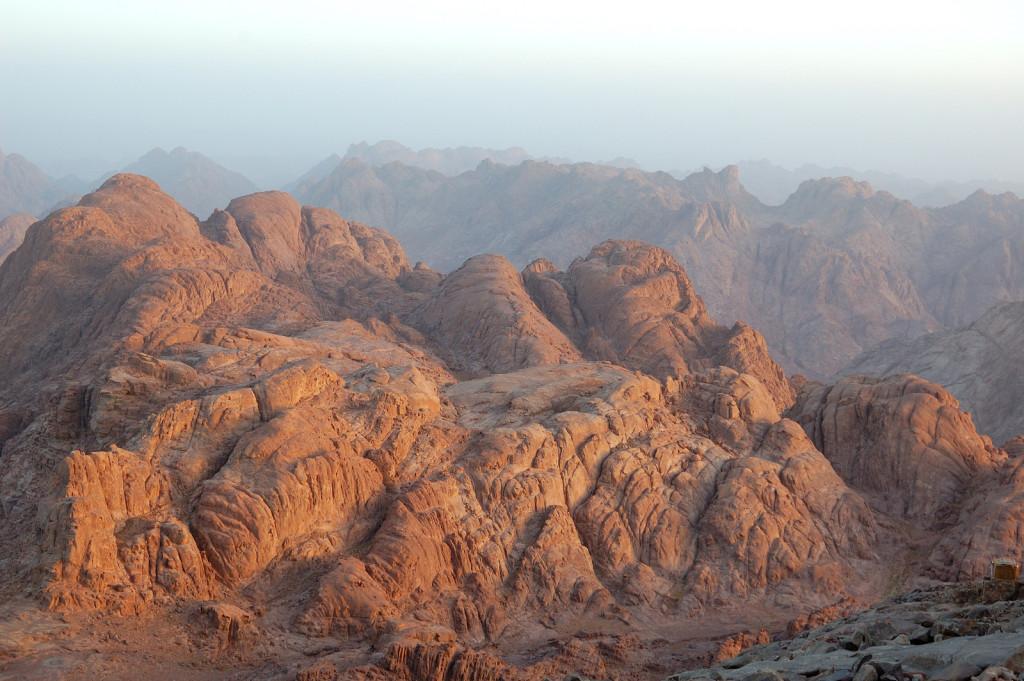 Mount Sinai, 10 Commandments