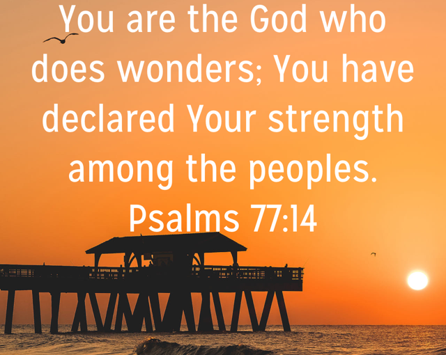 The God of Wonders Will Bring You Peace