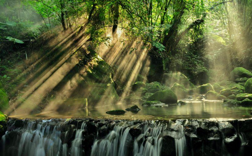 Gentle flowing water or a raging river?