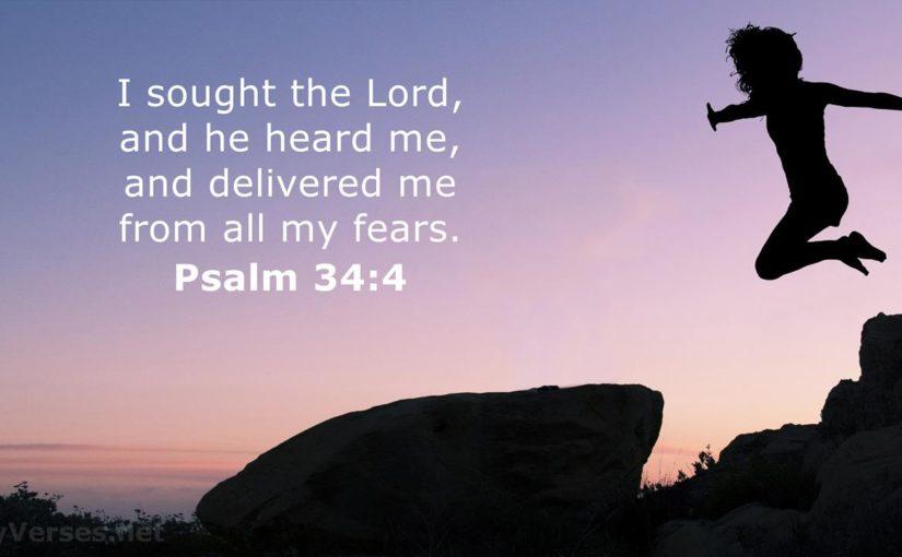 Psalm 34 – God's Plans – His blessings