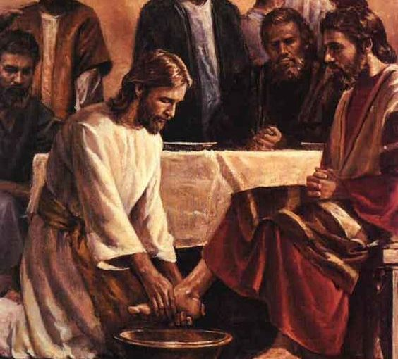 Forgiveness & Humility Shown By Jesus